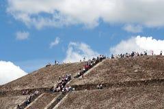 Oberseite der Pyramide Stockbild