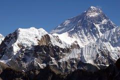 Oberseite der Welt Everest 8848 Stockfotografie