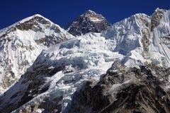 Oberseite der Welt Everest 8848 Lizenzfreie Stockfotos