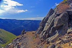 Oberseite der Welt, Sierra Buttes Lizenzfreies Stockbild