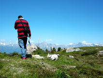 Oberseite des Berges Lizenzfreies Stockbild