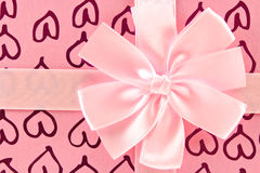 Oberseite des Geschenkkastens Lizenzfreies Stockfoto