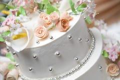 Oberseite des Kuchens Stockfoto