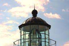 Oberseite des Leuchtturmes Stockfotos