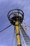 Oberseite des Lieferungs-Mastes Stockfotografie
