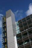 Oberseite des modernen Gebäudes Stockbild