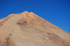 Oberseite des Vulkans Lizenzfreie Stockfotos