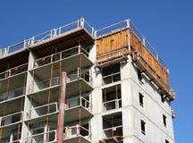 Oberseite einer neuen Wohnung Stockfotografie
