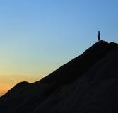 Oberseite eines Berges lizenzfreies stockbild