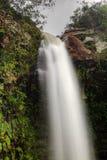 Oberseite eines Rutschtypen Wasserfall, Abade in Brasilien stockfotos