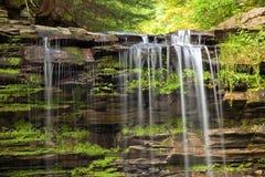 Oberseite eines Wasserfalls Stockfoto