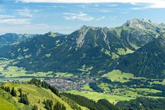 Oberstdorf Royalty Free Stock Photos