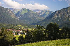 Oberstdorf Stockfotos