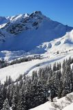 Oberstdorf. A large mountain in Bayern Royalty Free Stock Image