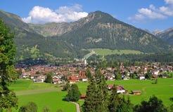 Oberstdorf, Allgaeu, oberes Bayern, Deutschland Lizenzfreies Stockfoto