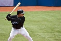 Oberste Baseballliga: David Eckstein Stockbilder