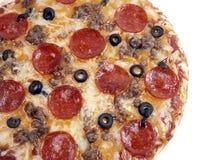 Oberste Pizza lizenzfreies stockfoto
