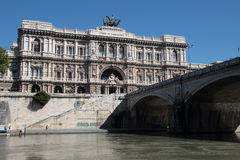 Oberstes Gericht der Aufhebung in Rom lizenzfreie stockfotografie