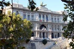 Oberstes Gericht der Aufhebung in Rom lizenzfreies stockfoto