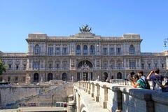 Oberstes Gericht der Aufhebung in Rom, Italien stockfoto