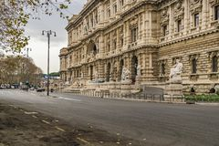 Oberstes Gericht der Aufhebung, Rom, Italien stockbilder
