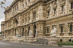Oberstes Gericht der Aufhebung, Rom, Italien lizenzfreie stockfotos