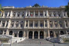 Oberstes Gericht der Aufhebung von Italien, Rom lizenzfreies stockfoto