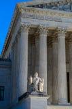 Oberstes Gericht der USA - die Betrachtung von Gerechtigkeit lizenzfreies stockbild