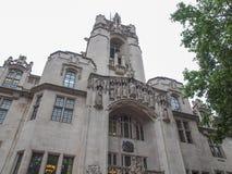 Oberstes Gericht London Lizenzfreies Stockbild