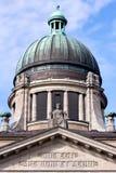 Oberstes Hanseatic Gericht von Hamburg lizenzfreie stockfotos