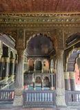 Oberstes Stockwerk von Tipu Sultan Palace in Bangalore. Stockbild