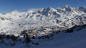 Obertauern ski resort , Austria Stock Photos
