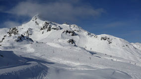 Obertauern ski resort , Austria Stock Images