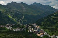 Obertauern, Salisburgo, Austria Fotografia Stock