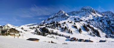 Obertauern Ski Resort Fotografia Stock