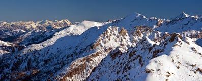 Obertauern ski resort Stock Photos