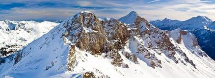 Obertauern ski resort Stock Photography