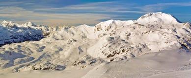 Obertauern ski resort Royalty Free Stock Photo