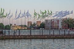 Oberteich in Kaliningrad Stock Foto's