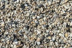 Oberteile an einem Strand in Frankreich Lizenzfreie Stockbilder