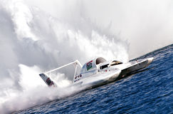 Oberto Hydroplane Royalty Free Stock Photos