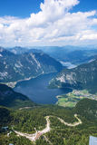 Obertraun, Lake Hallstatt - view from Dachstein Royalty Free Stock Photography
