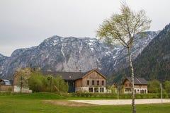 Obertraun. View beautiful  in Obertraun,Austria Royalty Free Stock Photo