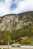 Obertraun. View beautiful  in Obertraun,Austria Stock Photos
