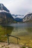 Obertraun. View beautiful  in Obertraun,Austria Stock Images