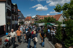 OBERURSEL, GERMANY - JUNE 11: Royalty Free Stock Images