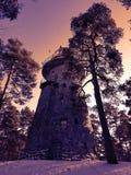 Obervatório antigo da estrela em Tallinn, Estônia, castelo de Glehns Foto de Stock