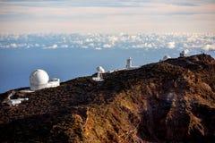 Obervatório astronômico na ilha de Palma do La Foto de Stock