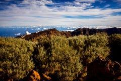 Obervatório astronômico na ilha de Palma do La Foto de Stock Royalty Free