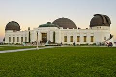 Obervatório de Griffith em Los Angeles Fotos de Stock